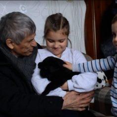 Первоклассница из Смоленска обратилась к Путину и получила щенка в подарок