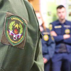 Сотрудники Леспопожарной службы Смоленской области провели открытый урок