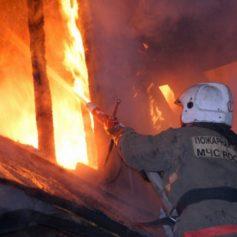 Под Смоленском произошел страшный пожар в жилом доме. Есть пострадавший