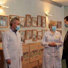 Игорь Ляхов передал средства индивидуальной защиты врачам областной больницы
