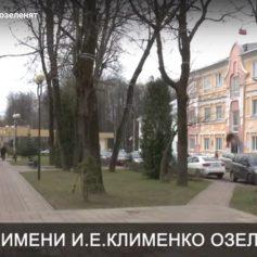 В Смоленске озеленят сквер имени И.Е. Клименко
