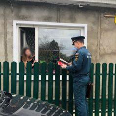 В Рославльском районе сотрудники МЧС провели противопожарный рейд