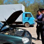 Передвижной регистрационно-экзаменационный пункт ГИБДД отработал в Ельне