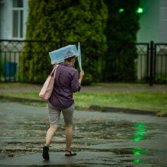 29 июня смолянам советуют не расставаться с зонтом