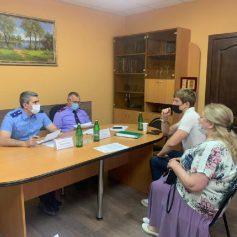Руководство прокуратуры и СУ СК провело совместный прием жителей Смоленска