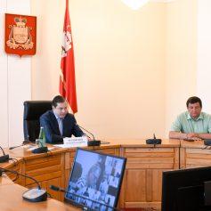 В администрации Смоленской области обсудили подготовку и проведение сентябрьских выборов