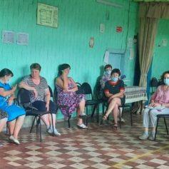 Анна Андреенкова провела встречу с жителями Мурыгинского сельского поселения