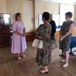 Глава Совета женщин и комитета солдатских матерей Смоленской области встретилась с активистками Ельни