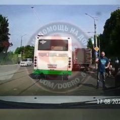 В полиции рассказали подробности ДТП с пенсионером в Смоленске
