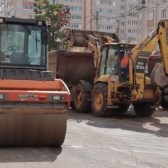 В Смоленске продолжается активный ремонт дорог
